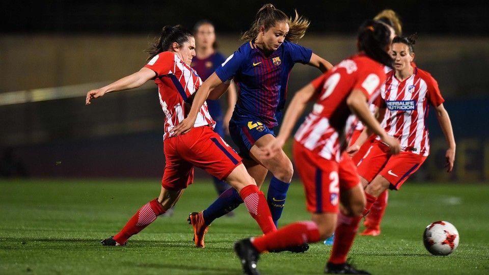 Resultado de imagen de atletico de madrid femenino barcelona