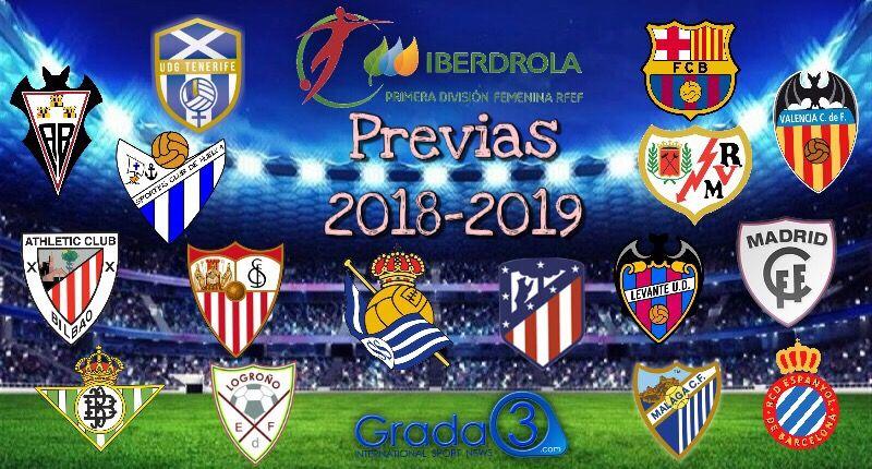 Liga Iberdrola Calendario.Previa De La Jornada 12 De La Liga Iberdrola Grada3 Com