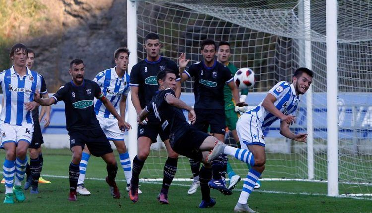 La Cultural Durango llega tras perder 3-0 con el Sanse. Foto: Luis Iturrioz