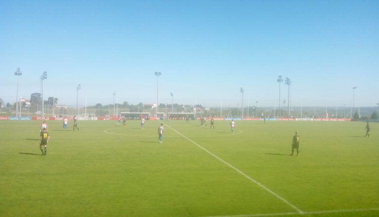 El Sporting hizo valer su superior categoría frente al Langreo para salir victorioso