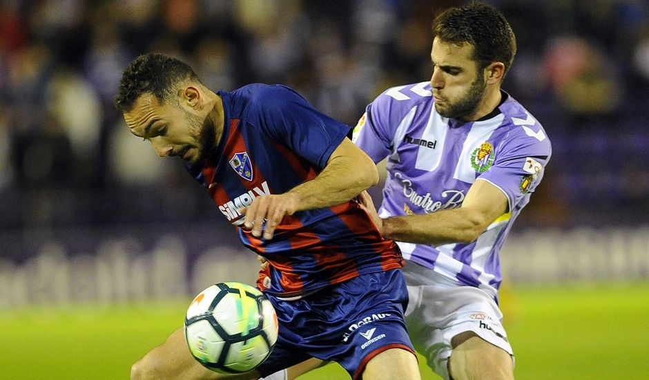 Huesca en un partido