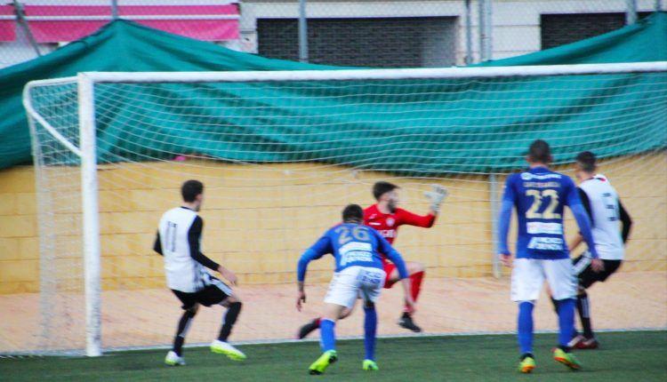 Momento del 2-3 en Ciudad Jardín entre Cartagena 'B' y Socuéllamos