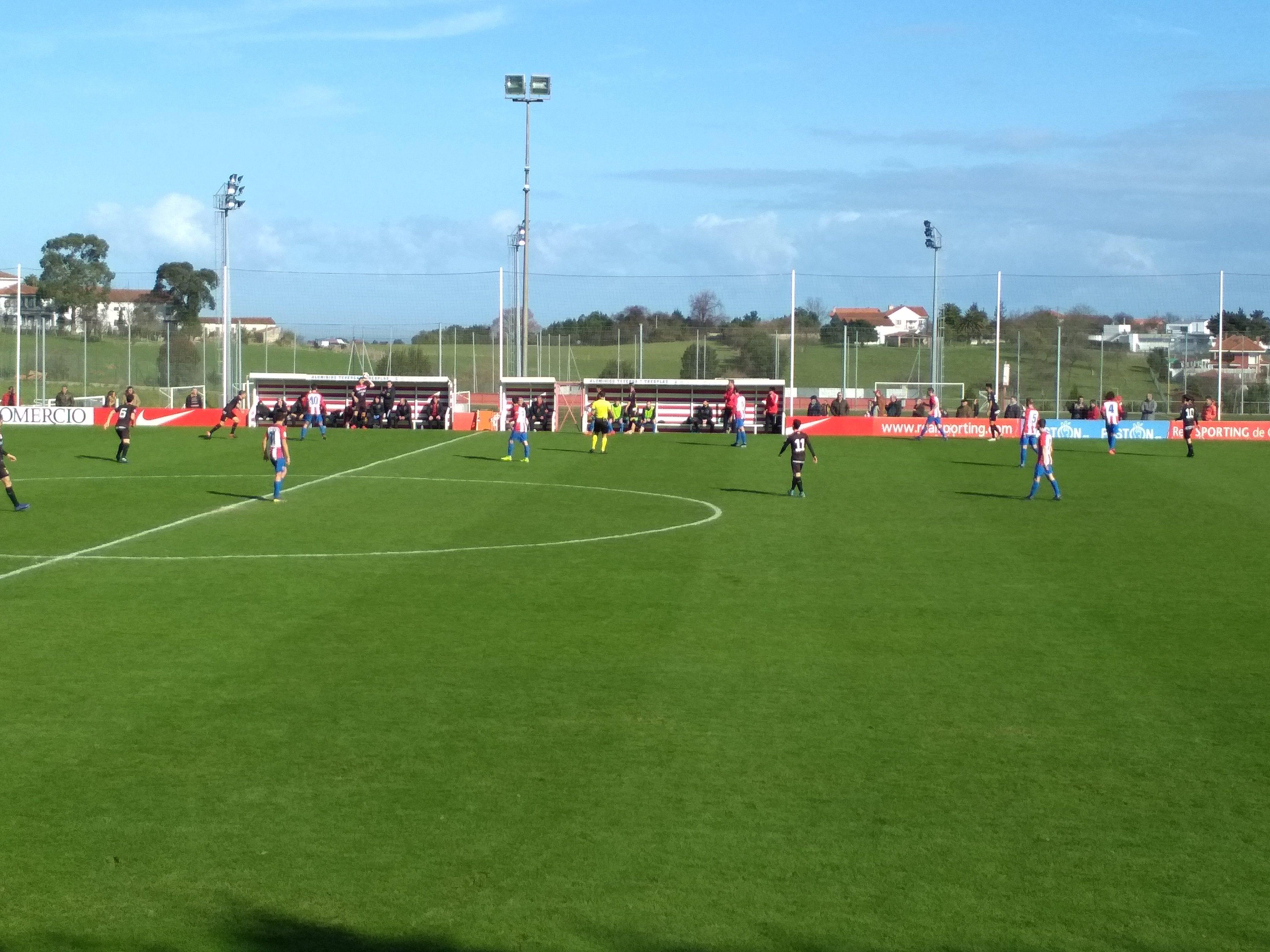 Sporting B Logroñés en Mareo