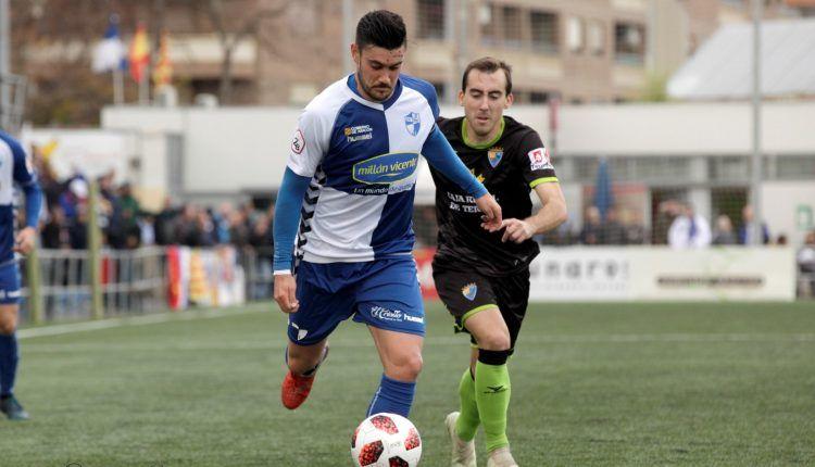Lance del Ebro - Teruel disputado en el partido de ida