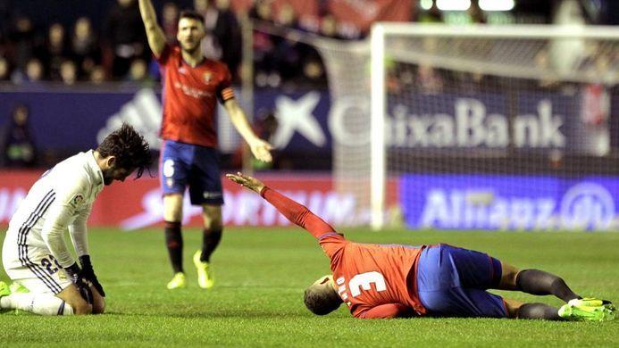 Lesión de Tano Bonnin ante el Real Madrid