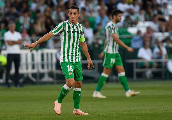 Andrés Guardado con el Betis