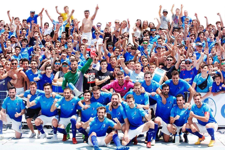 Las Rozas CF debutará en Segunda 'B' el curso que viene