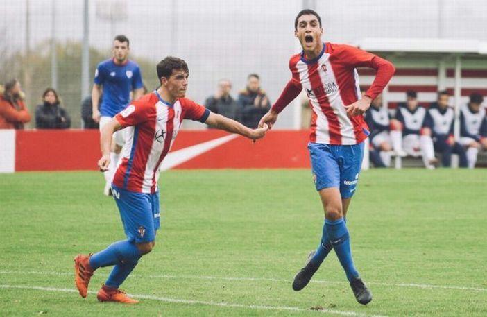 Pablo Fernández celebra un gol esta campaña