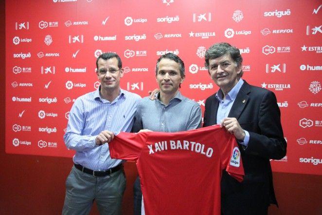 Xavi Bartolo, centro de las críticas. | Foto: gimnasticdetarragona.cat