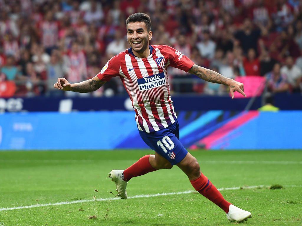 Correa en un partido con el Atlético de Madrid