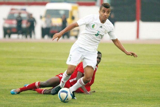 Benkhemassa con la selección argelina