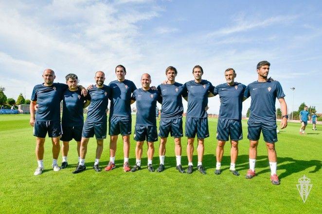 Cuerpo técnico del Sporting para la temporada 2019/2020