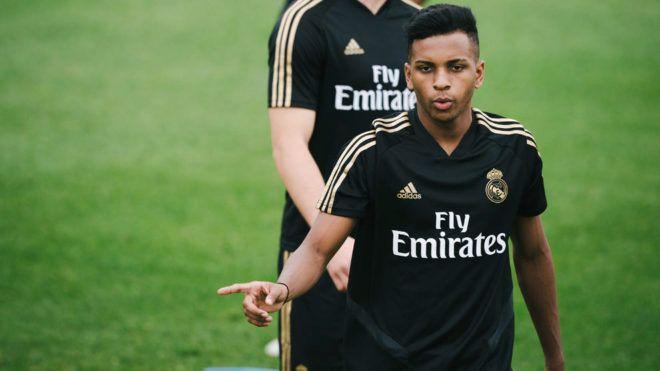 Rodrygo esta pretemporada con el Real Madrid