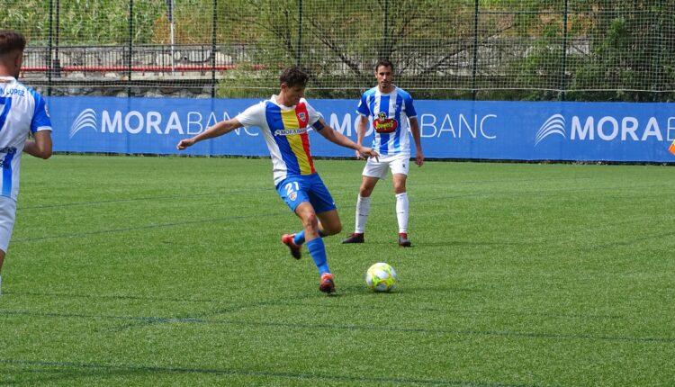 Imagen del último partido jugado por el Ejea en territorio andorrano