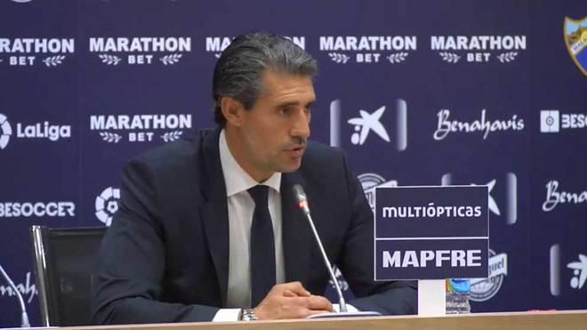 José Luis Pérez Caminero, director deportivo del Málaga CF