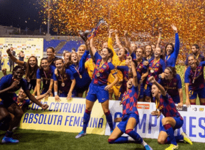 El FC Barcelona Femení ganó la Copa Cataluña 2019.   Foto: @FCBFemeni