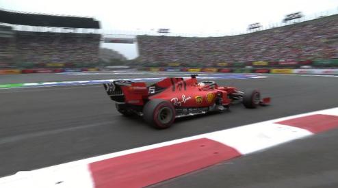 Ferrari muestra potencia en el primer día de México
