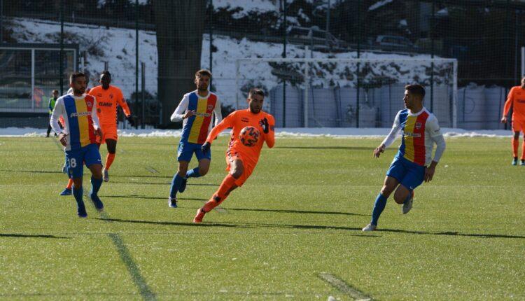 Lance del encuentro Andorra-Ebro
