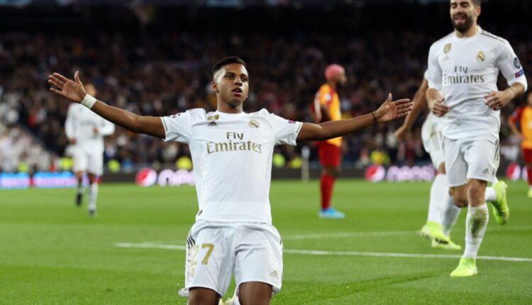Rodrygo, con dos goles en tan sólo seis minutos, fue el futbolista más destacado de la primera mitad