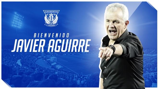 Javier Aguirre nuevo entrenador del Leganés