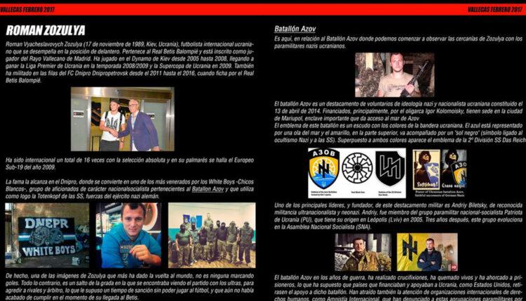 Extracto del comunicado de la plataforma ADRV