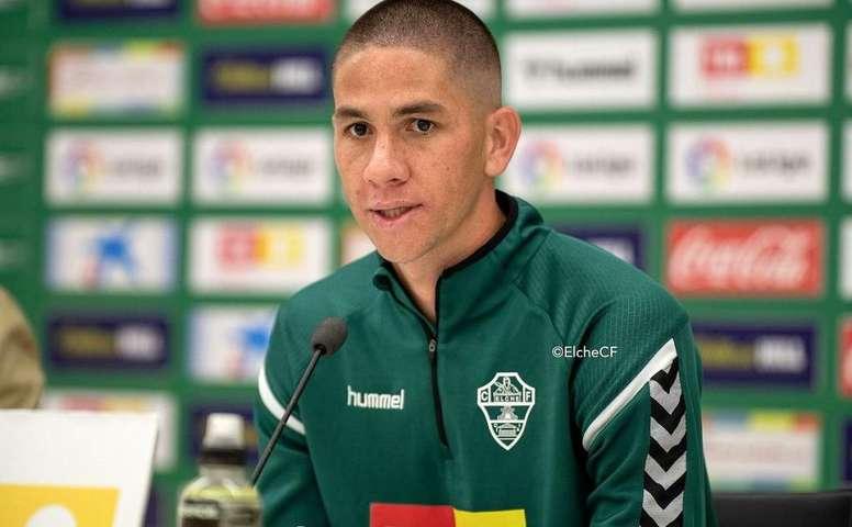 Danilo Ortiz. Elche CF.