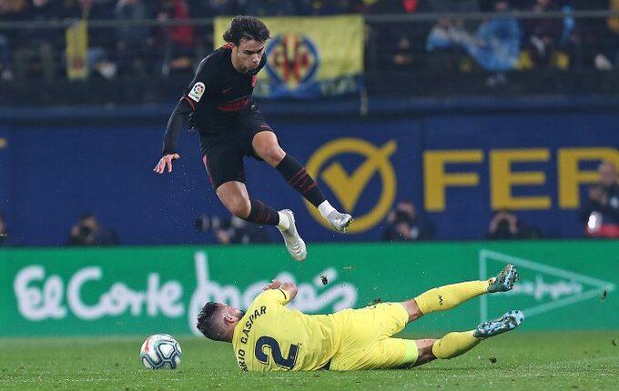 Lance del Villarreal - Atlético