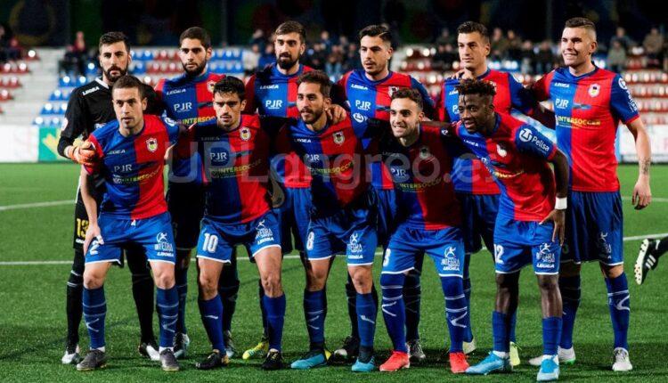 Once del Unión Popular de Langreo en la Copa del Rey frente al CD Ebro