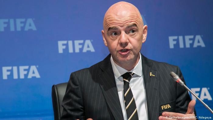 Gianni Infantino. Presidente FIFA