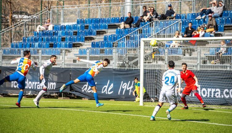 Imagen del último partido del Atlético Levante