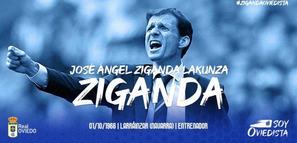 El Oviedo estrenará entrenador en la figura de José Ángel Ziganda