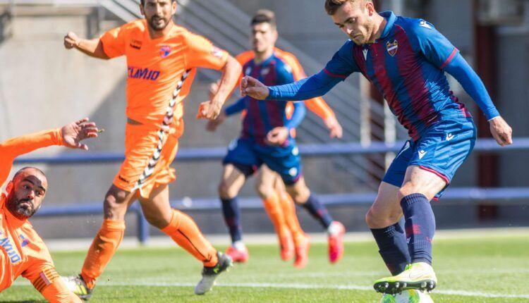 Imagen del último partido del CD Ebro