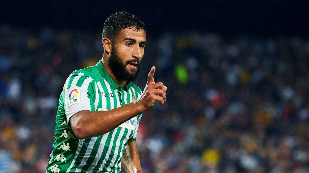 La temporada de Nabil Fekir en el Real Betis es de sobresaliente