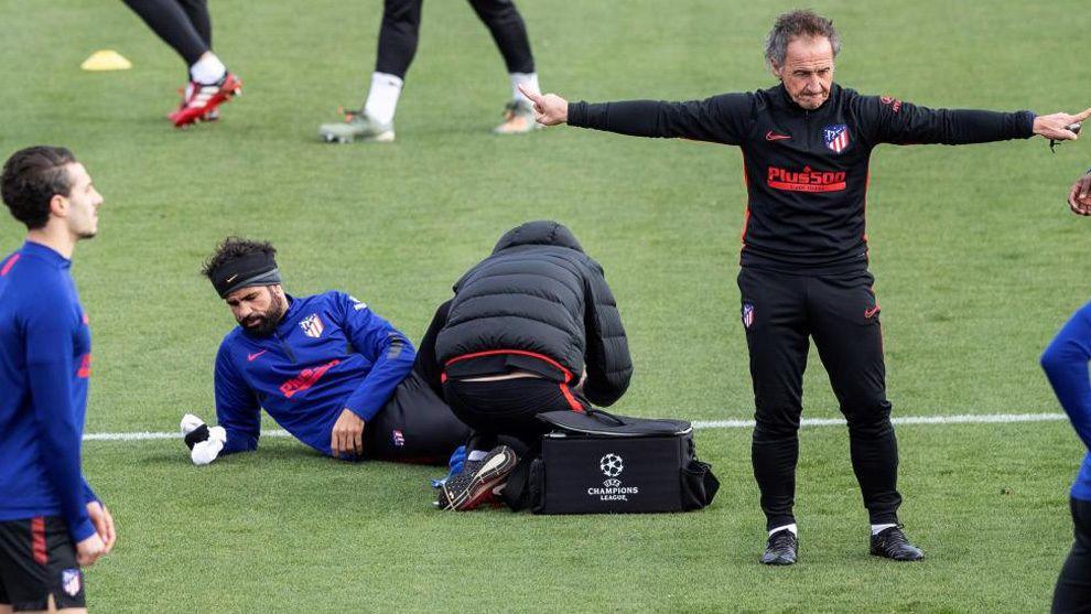Profe Ortega. Pretemporada del Atlético de Madrid