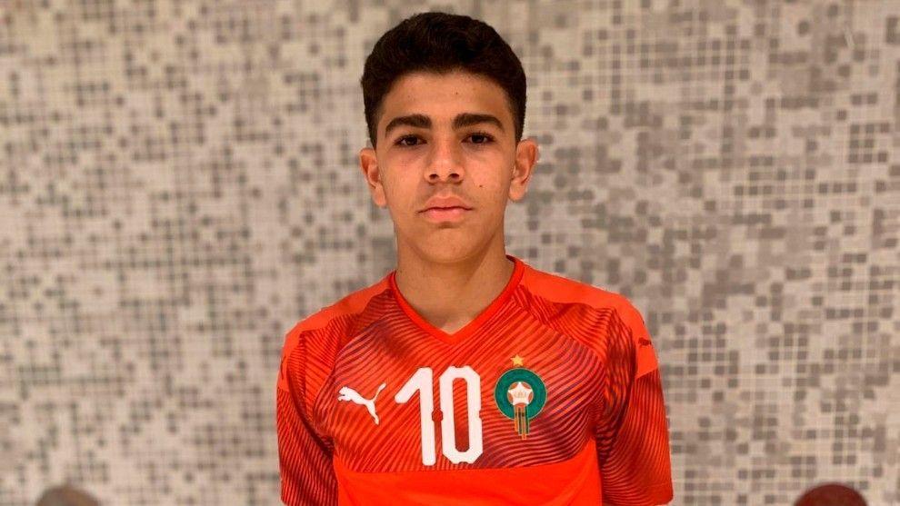 El Atlético blinda a Salim, la joya marroquí