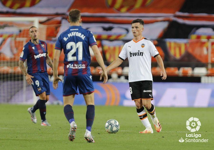 Guillamón debutó en Mestalla el pasado 12 de junio ante el Levante UD   F: Súperdeporte