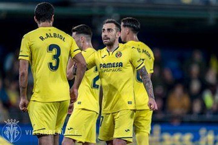 Villarreal celebra gol
