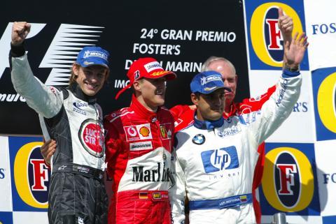 Montoya y otra muestra de sublevación al imperio Schumacher en Ímola 2004