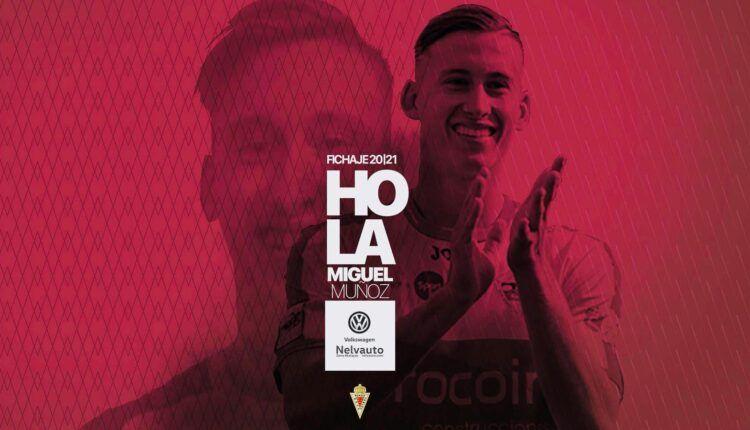 El cartel del anuncio de fichaje de Miguel Muñoz
