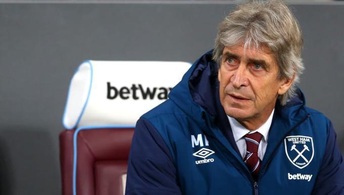 Manuel Pellegrini en el West Ham