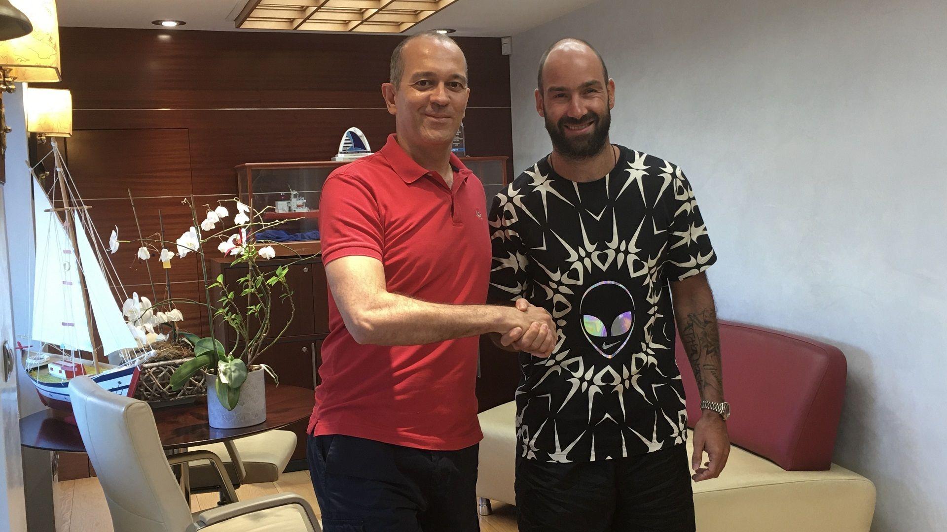 Spanoulis renueva con Olympiacos
