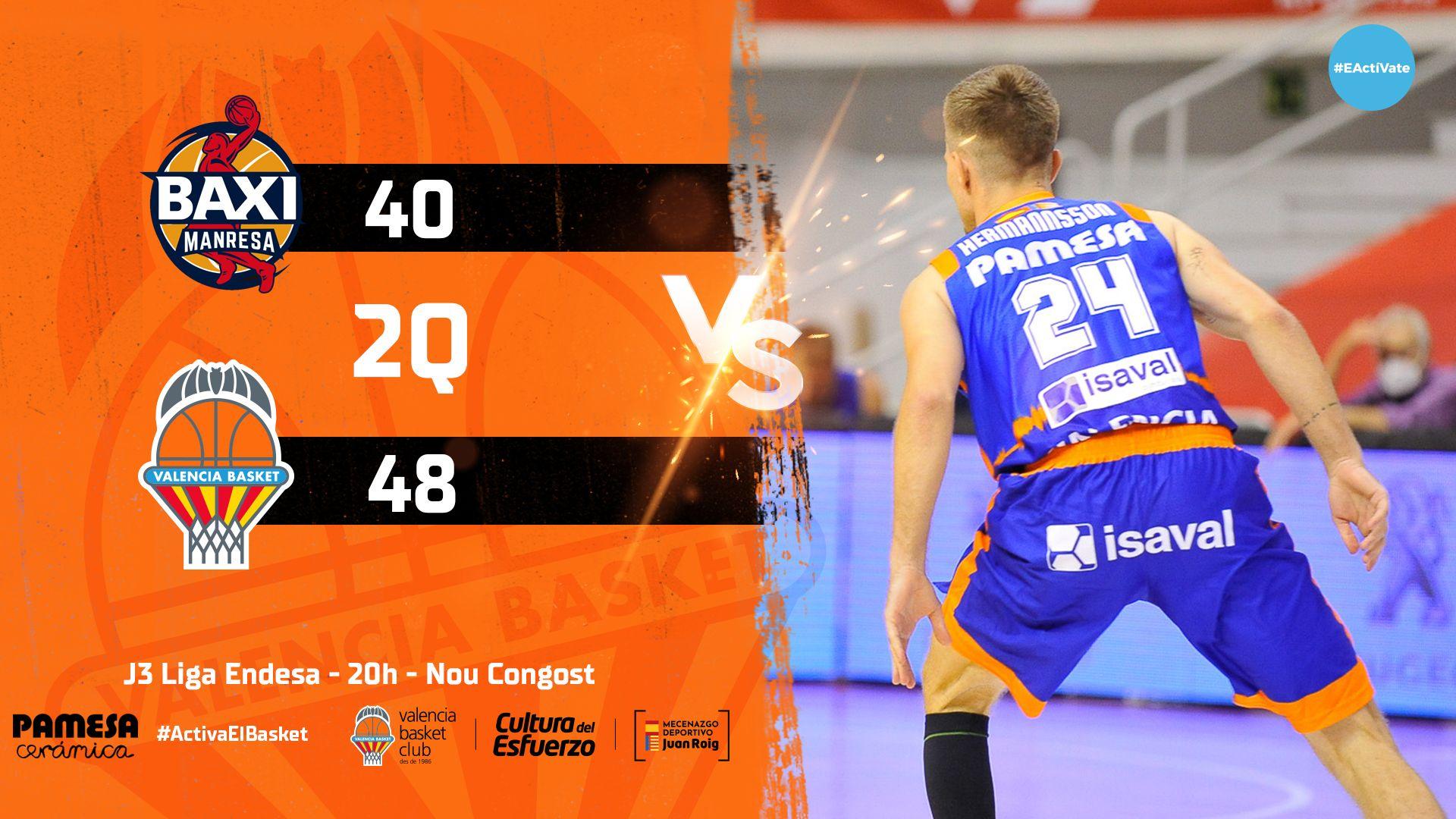 BAXI Manresa vs Valencia Basket