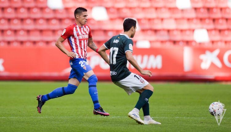 Lance del Sporting - Logroñés, Jornada 1