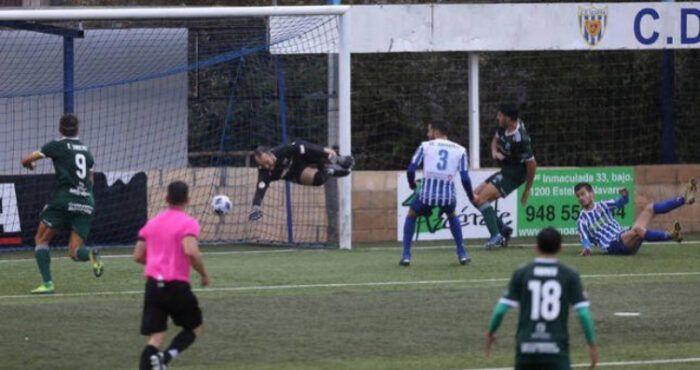 Gol de Rodri (Tarazona) ante el Izarra