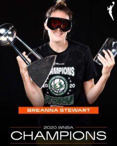 Stewart Trofeo WNBA