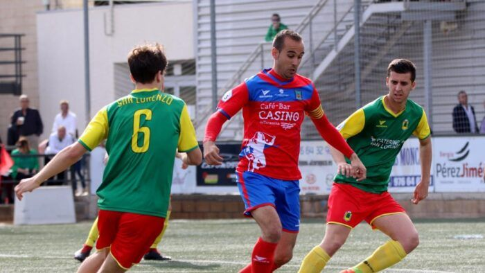 Michel Sanz,en su etapa de jugador de la SD Tarazona