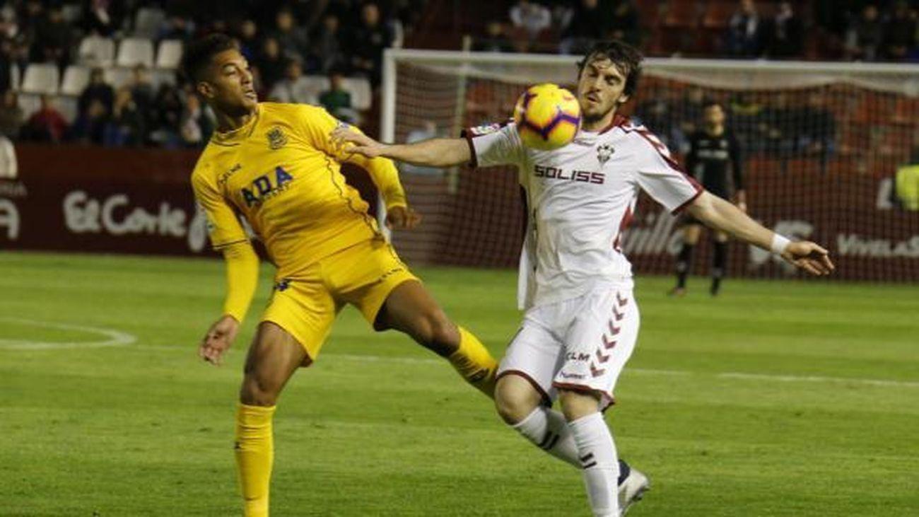 Lance de un Alcorcón - Albacete en la temporada 2019/2020