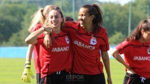 Athenea del Castillo con 3 goles y 3 asistencias es la líder del Deportivo Abanca en ataque
