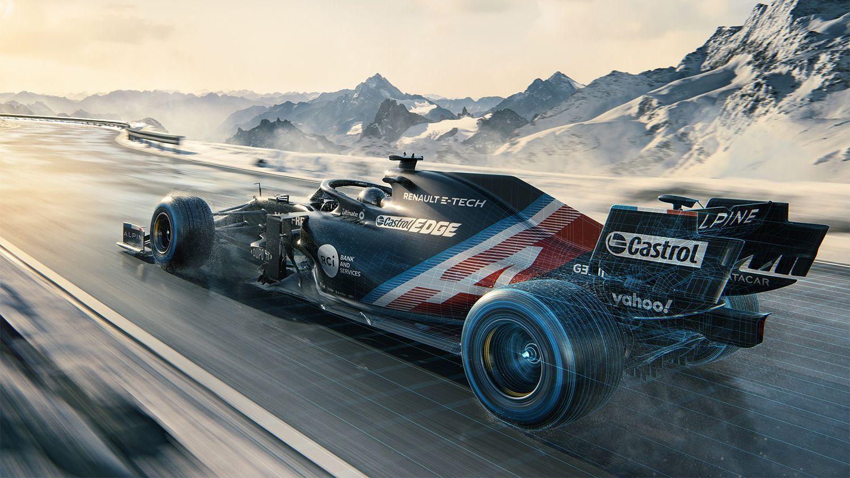 Alpine presentó el A521, el monoplaza que conducirá Alonso en 2021 - Grada3.COM