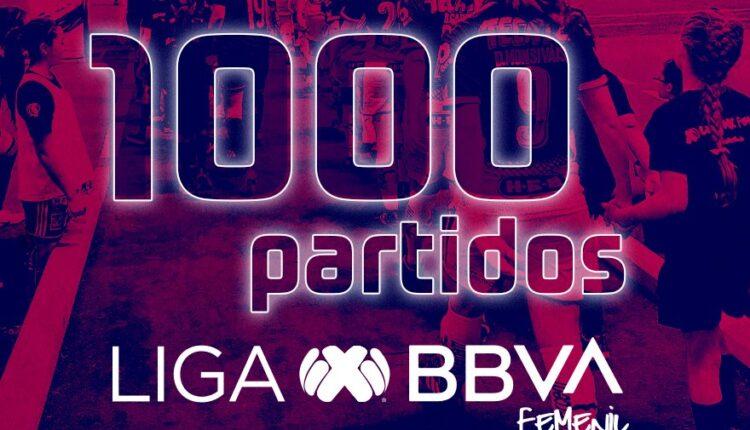 1000 partidos LIGA MX FEMENIL